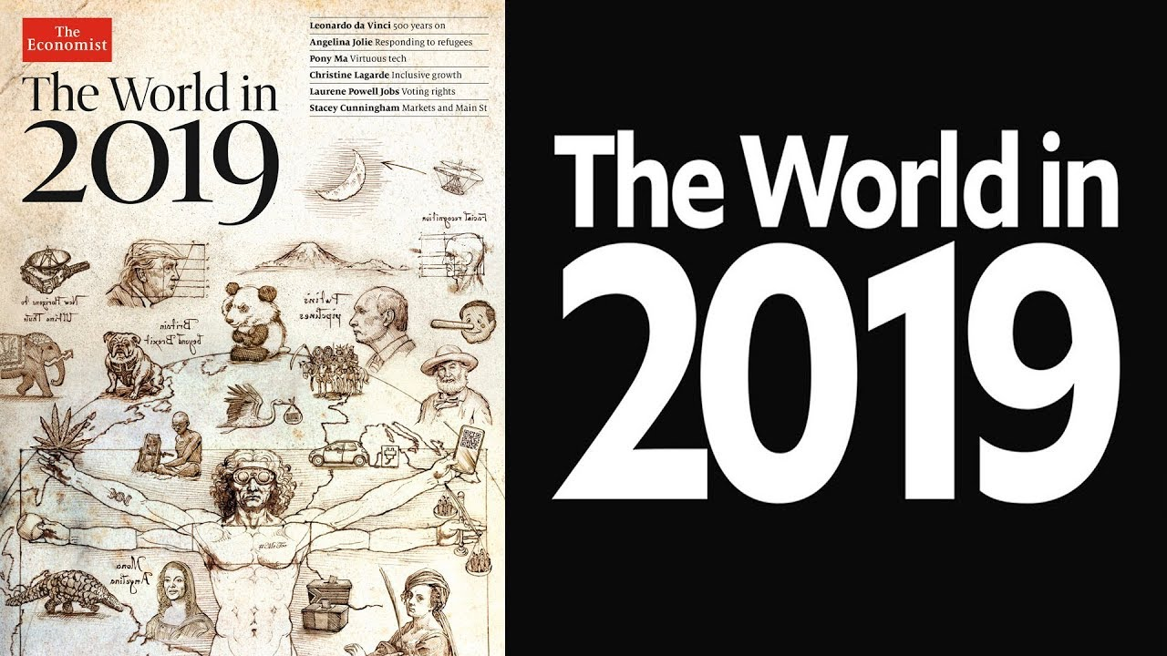 Image result for 2019 economist cover