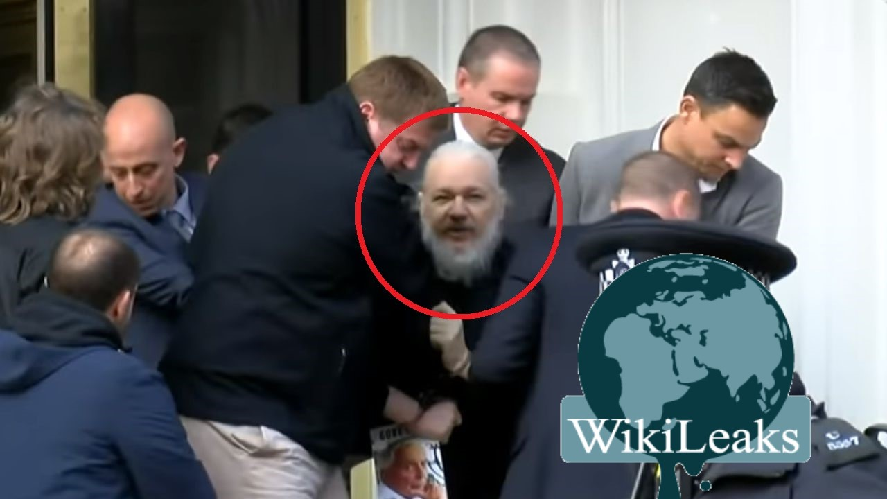 Detienen en Londres a Julian Assange, fundador de WikiLeaks (Video)