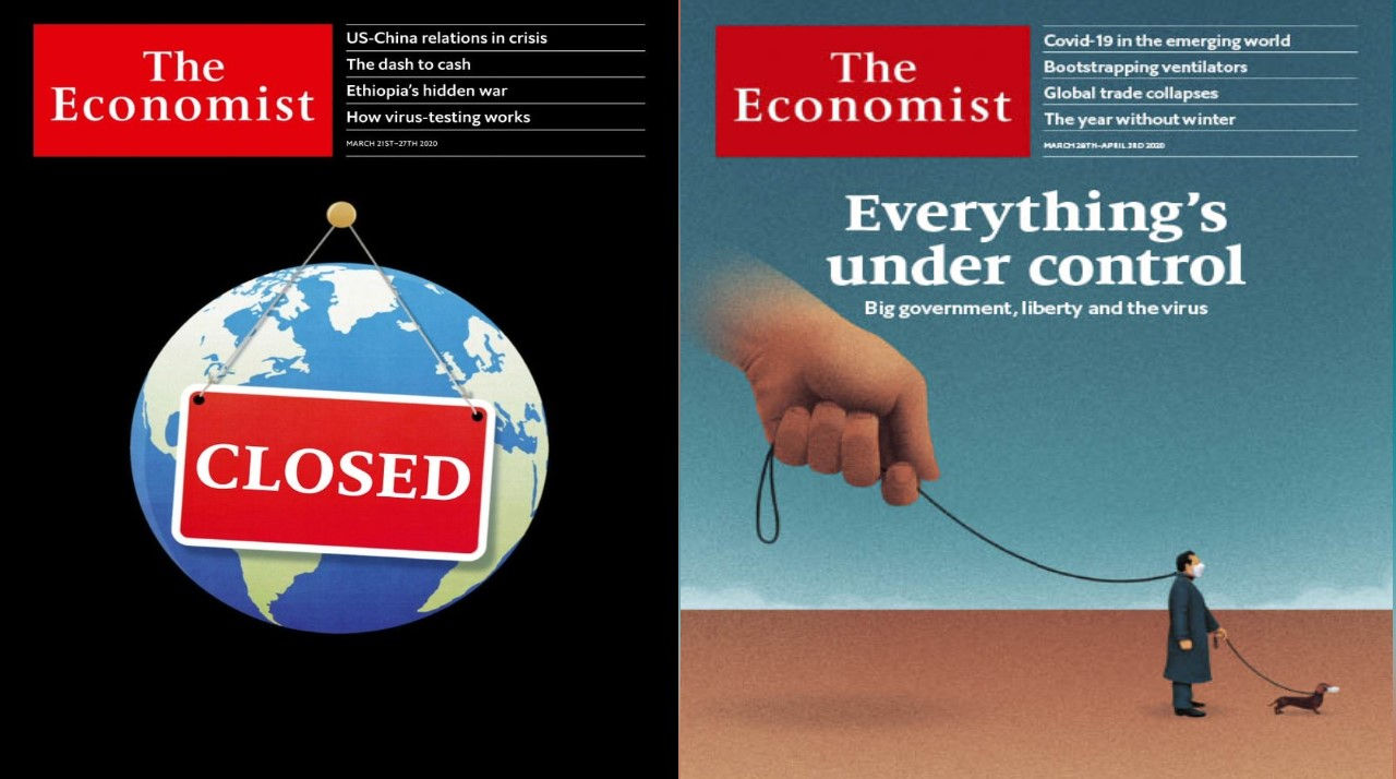 "The Economist, la revista de la élite: ""Todo está bajo control"" (Video)"