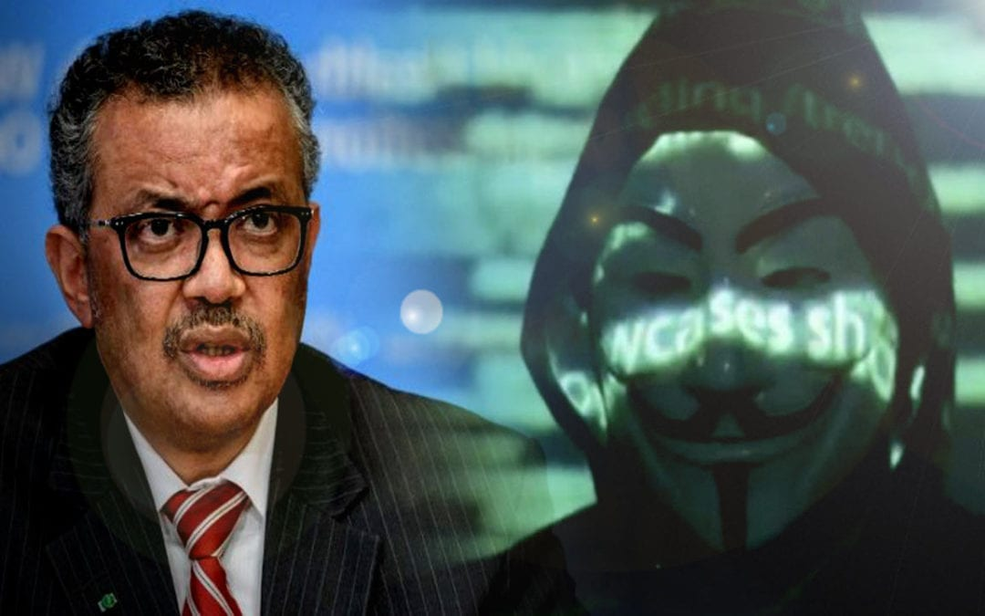Los hackers de Anonymous arremeten contra la OMS en su nuevo video