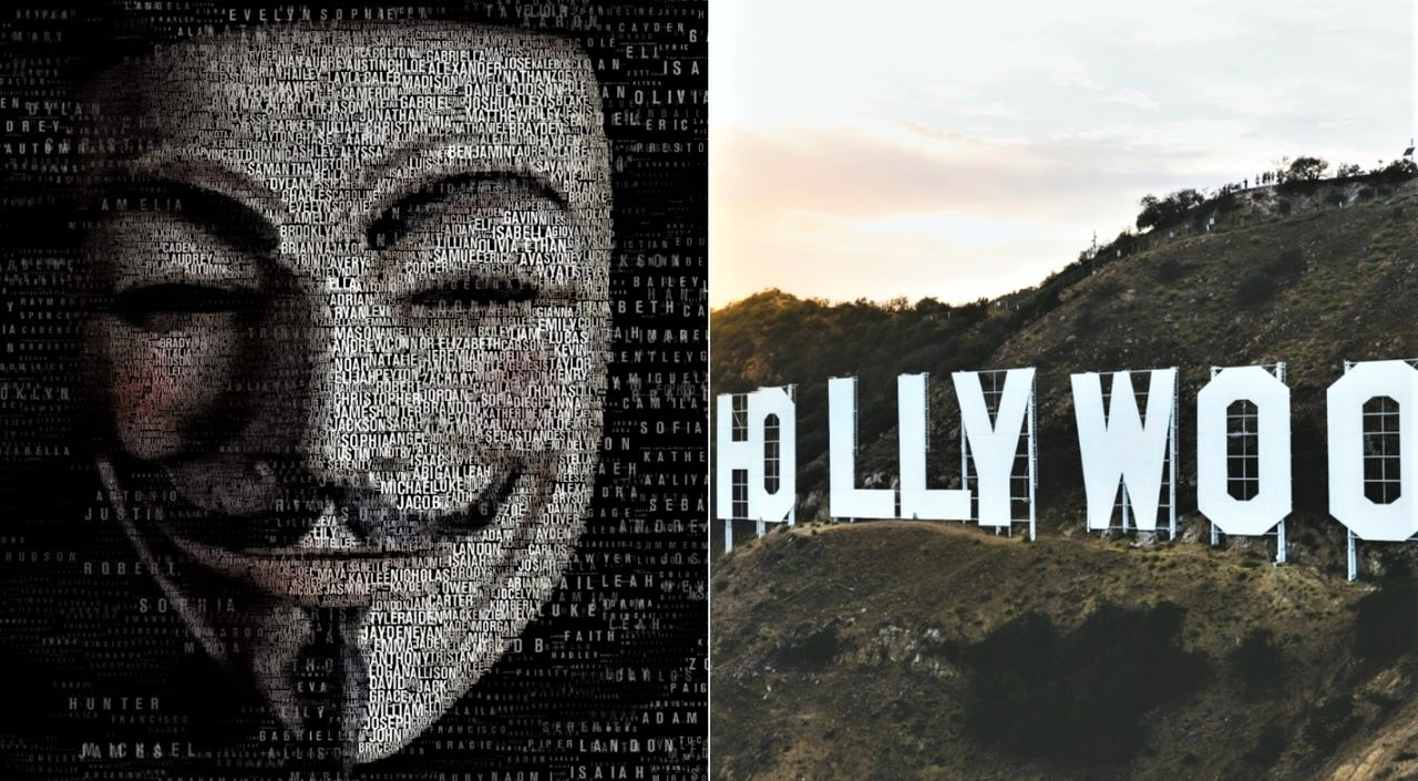 "Anonymous y actores famosos ""destapan"" las redes ocultas de Hollywood"