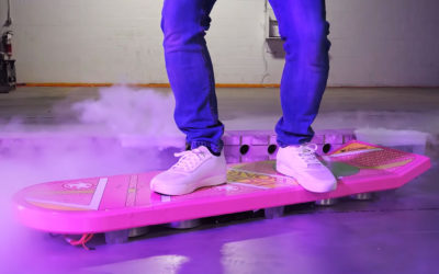 "¿Hoverboard? Ingenieros crean una ""tabla flotante"" que funciona (Video)"